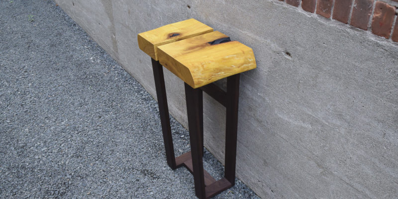 Osage Orange Side Table