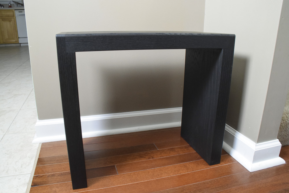 black oak sitting benches