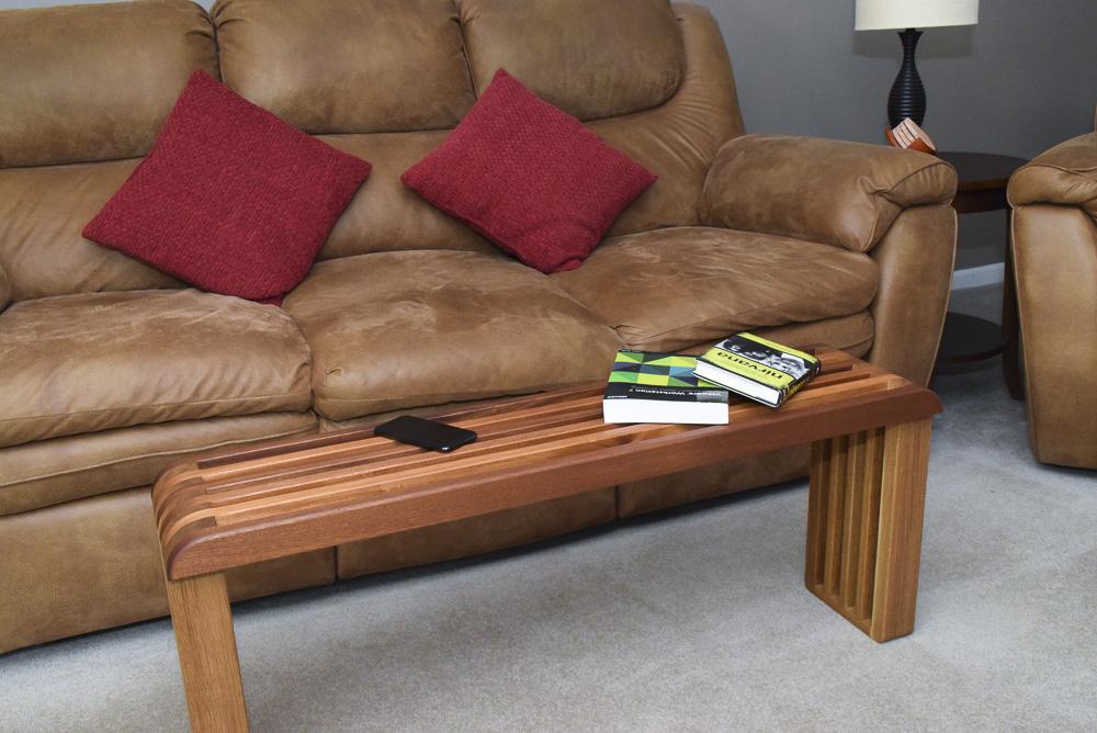 designable slat coffee table