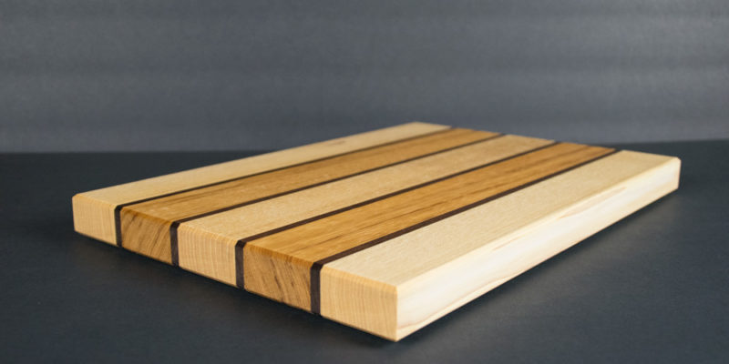 Striped Quartersawn Hickory Cutting Board Giveaway